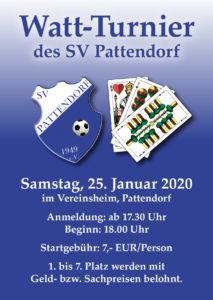 Watt-Turnier SV Pattendorf @ Sportheim SV Pattendorf